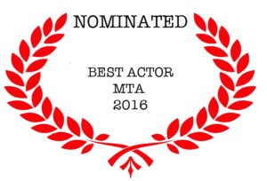 Nominated   Best Actor MTA  2016